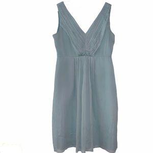 J Crew Silk Chiffon Louisa Dress Sz 12